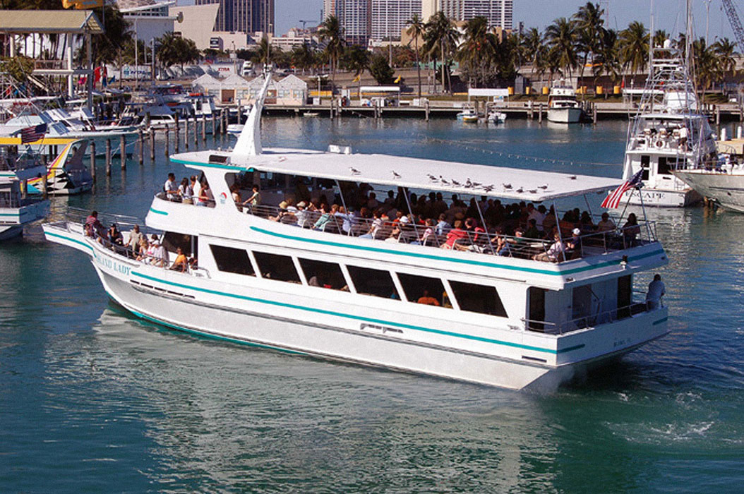 Private and Small Group Miami Boat Tours | Ocean Force ... |Boat Trip Miami Key Biscayne